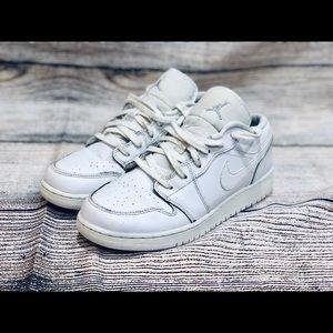 Air Jordan Nike low top White Casual Sneakers